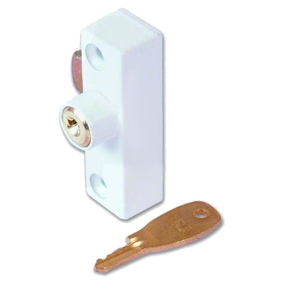 Era 901 Metal Window Lock White