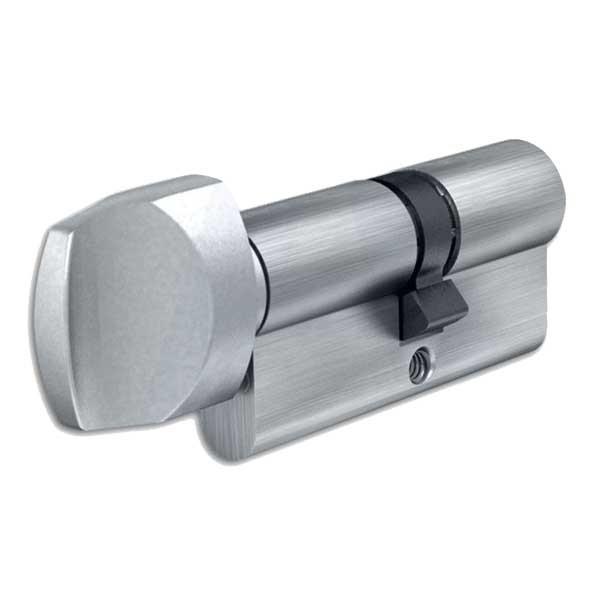 Evva Euro Knob Cylinder Nickel Plated