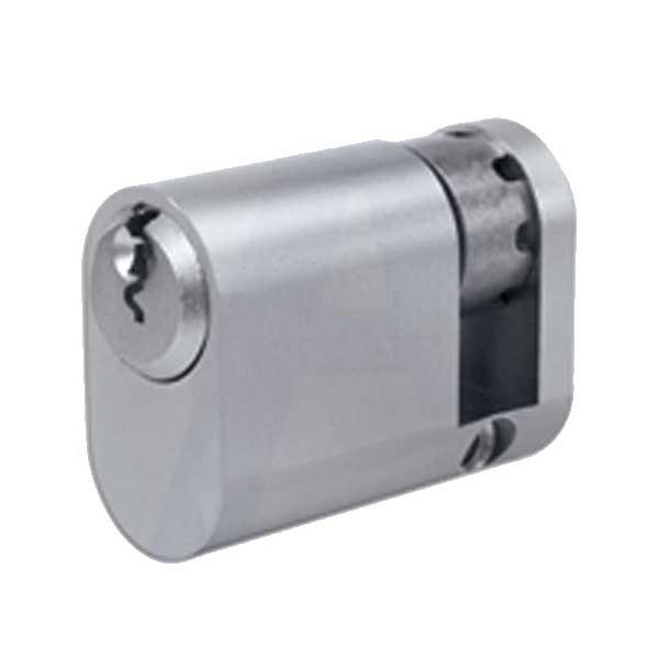 Evva A5 Oval Half Cylinder Nickel Plated
