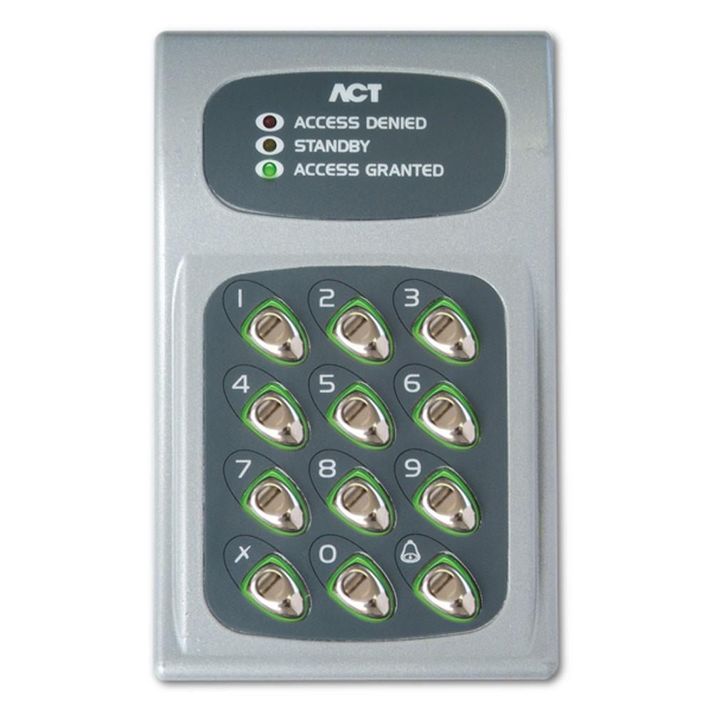 ACT 10 Electronic Keypad Grey