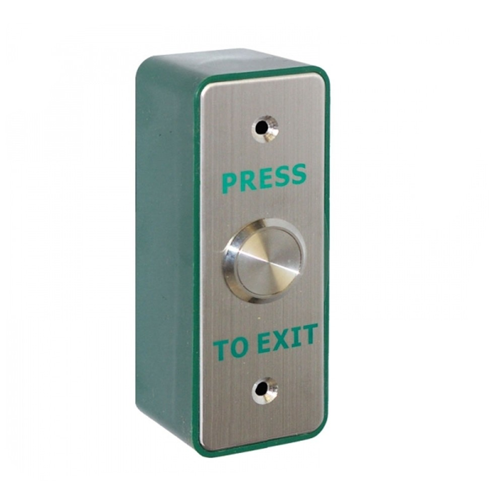 Securefast Narrow 22mm Exit Button Surface SSS