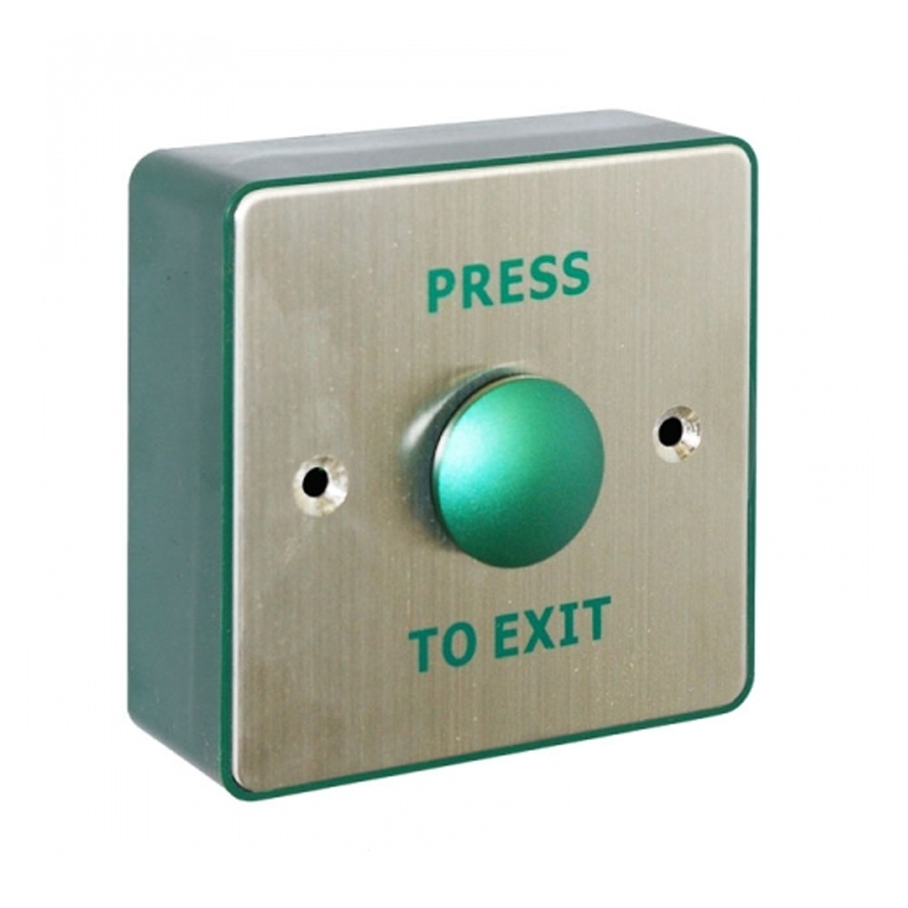Securefast Green Exit Button Surface