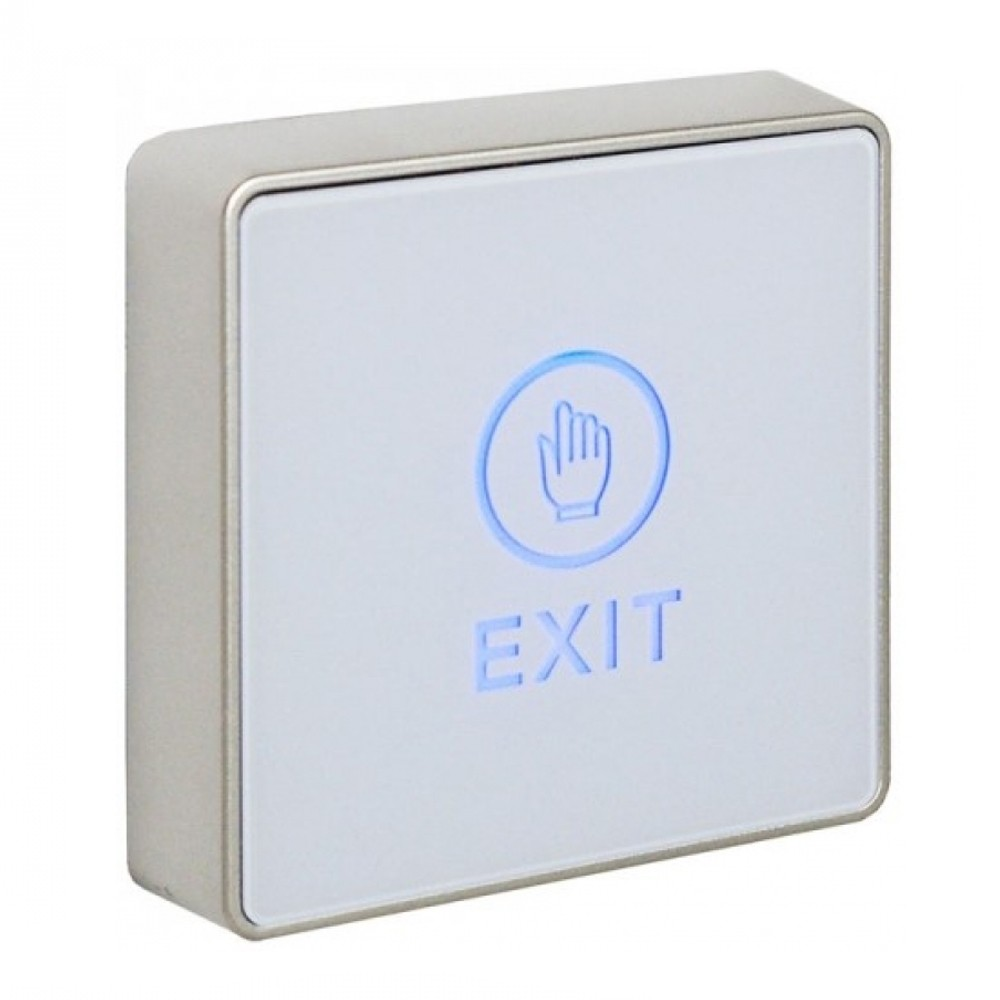 Securefast LED Touch To Exit Button White