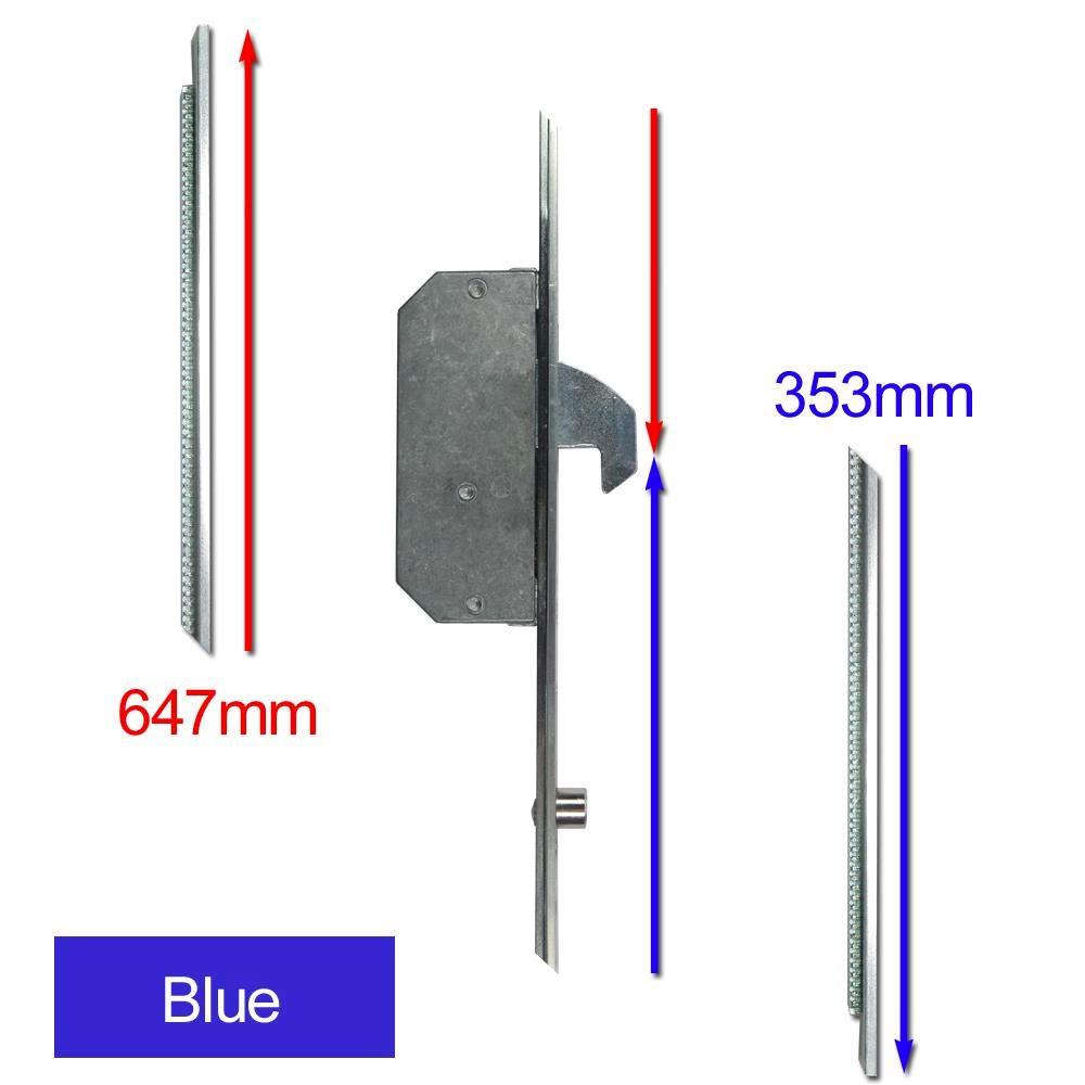 Repair Lock Extension 2 Hook & 2 Roller Blue