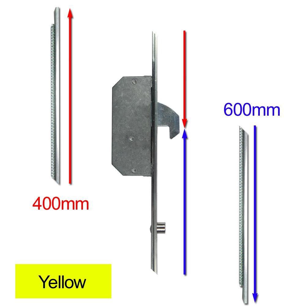 Repair Lock Extension 2 Hook & 2 Roller Yellow