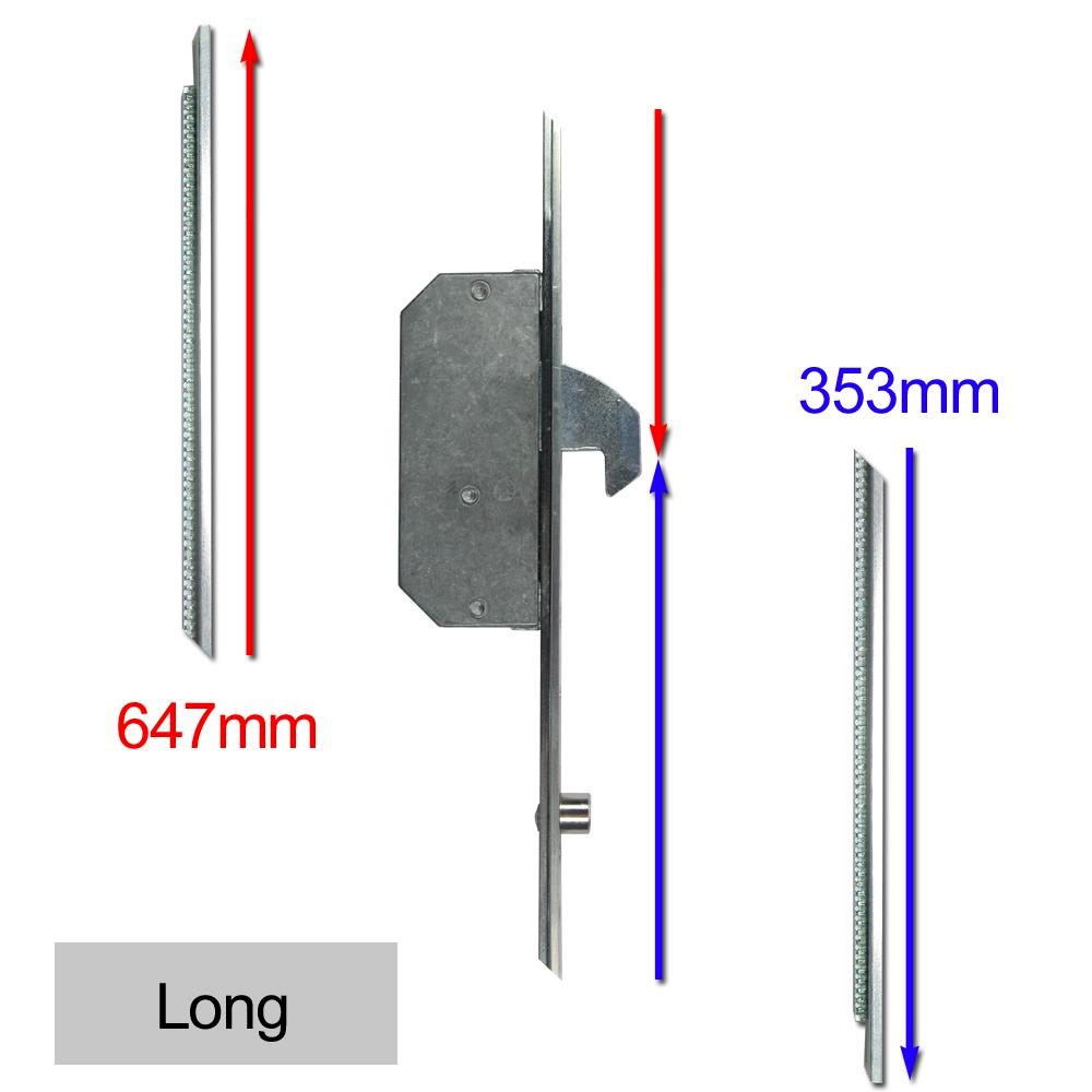 Repair Lock Extension 2 Hook & 2 Roller Long