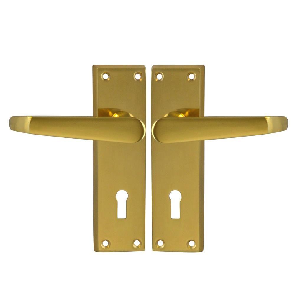 Asec Victorian furniture Lock PB