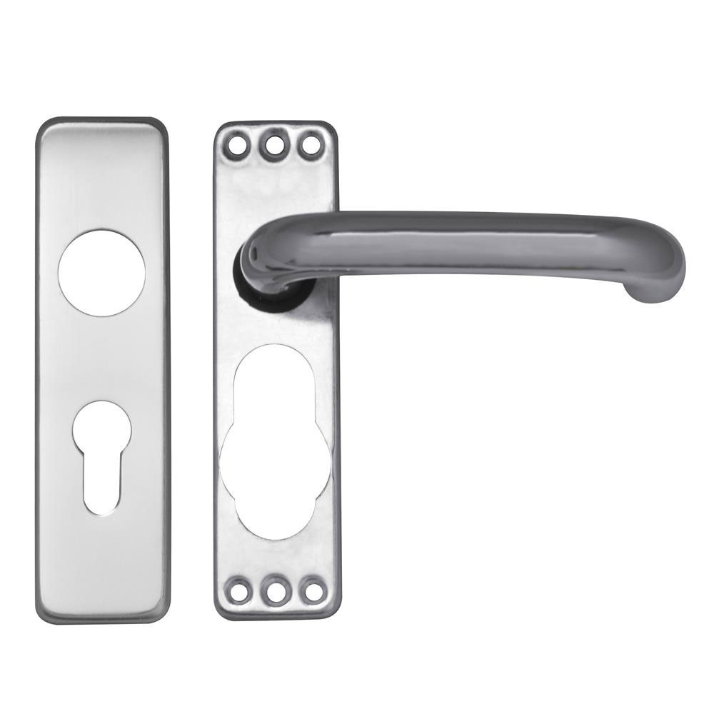 Asec Door furniture Lever Lock Euro
