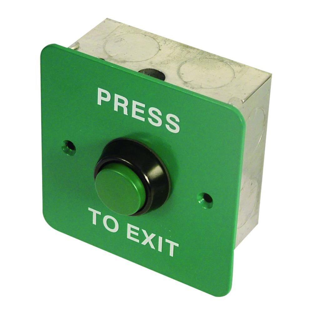 Asec EXB 0656-5 Exit Button 1 Gang