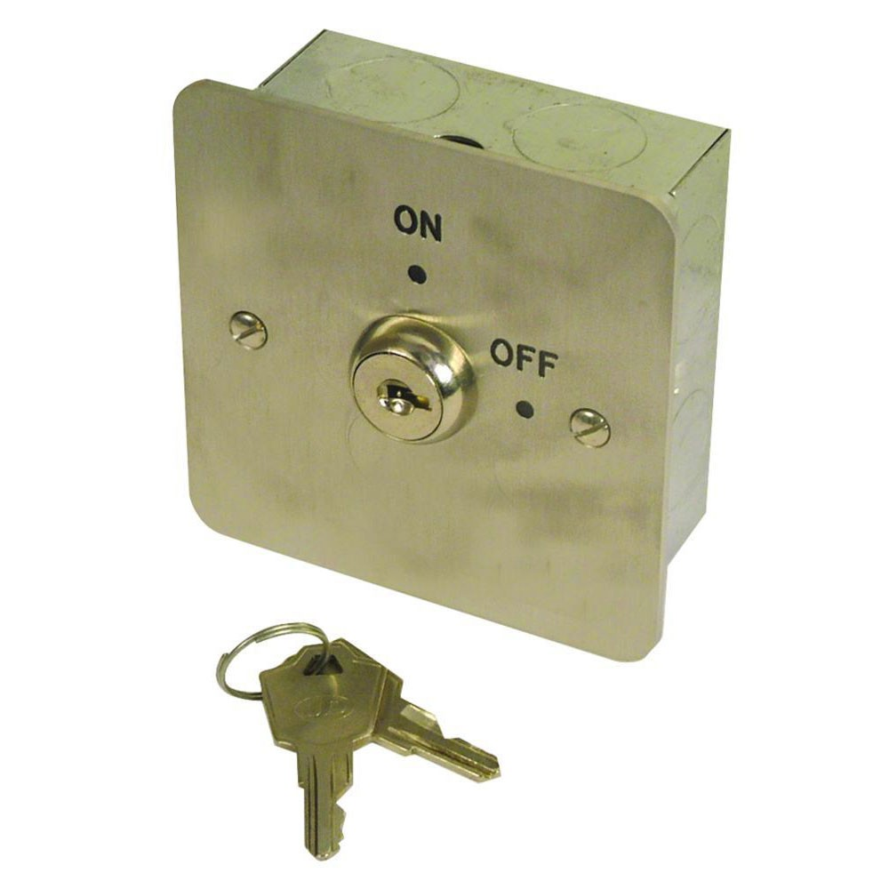 Asec 1 Gang On/Off Key Switch