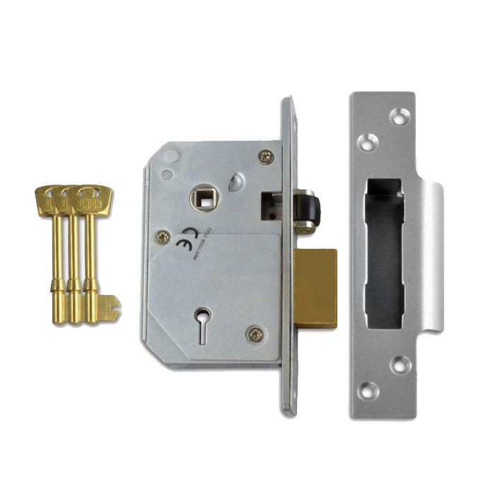 Union BS3621 Sashlock Satin Chrome 67mm TP20