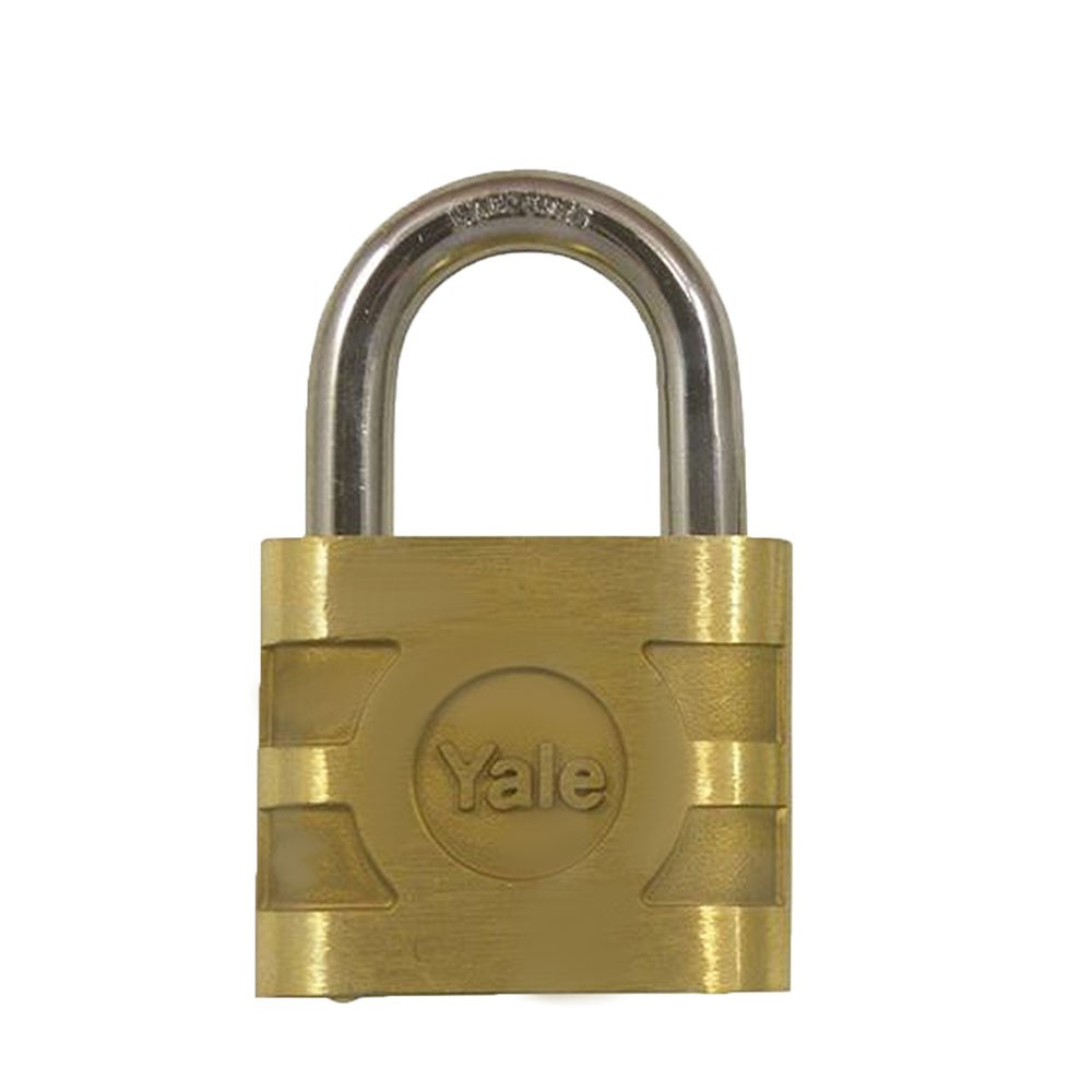 Bronze Padlock Steel Shackle 41mm