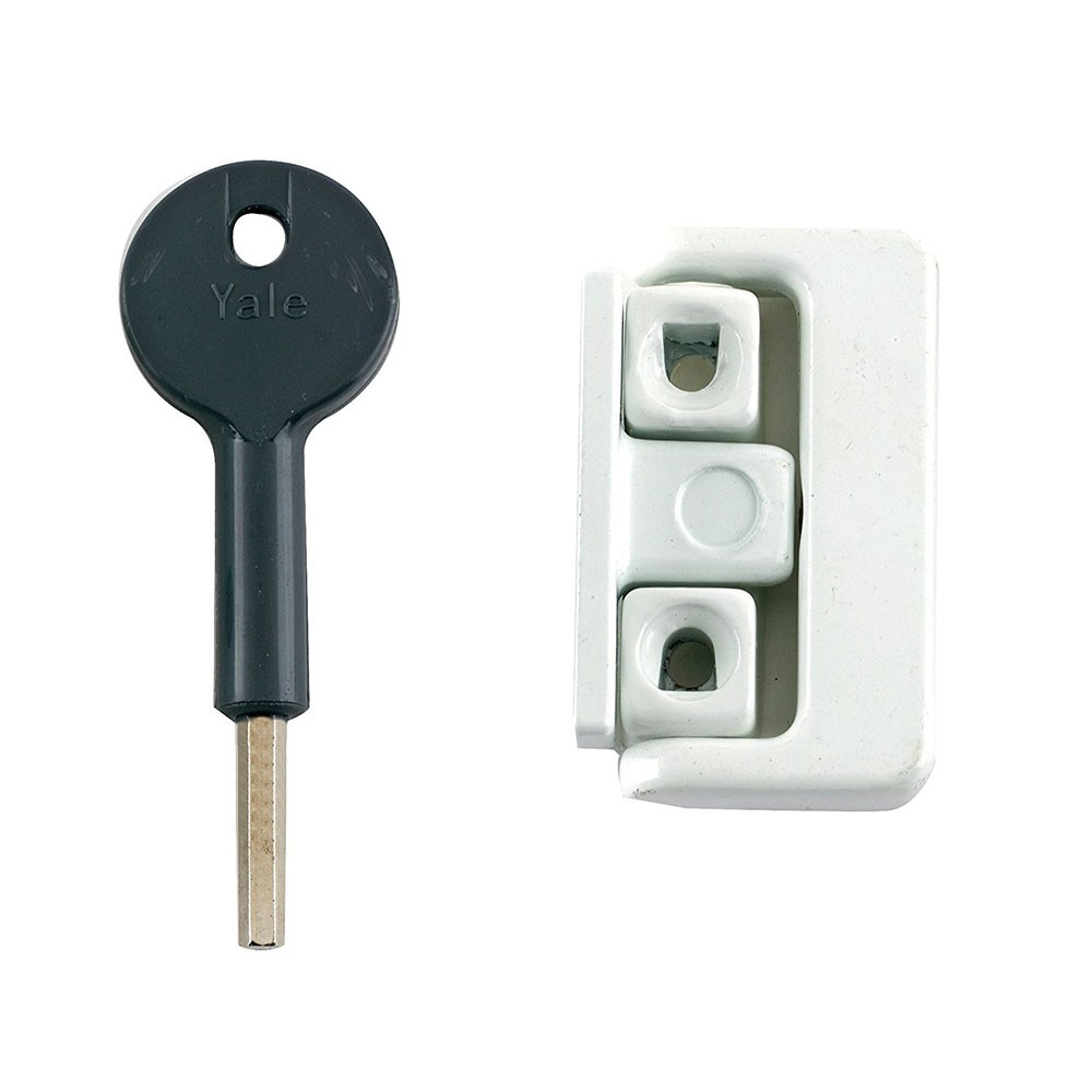8K101 Pivoted Window Lock White x 50