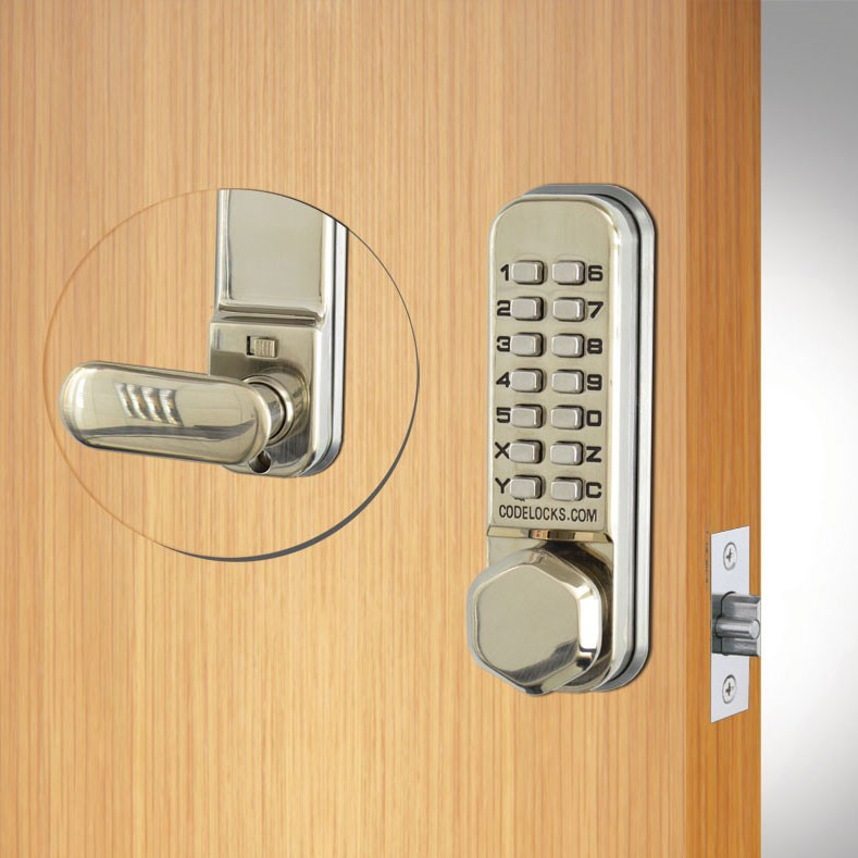 Codelocks CL255 Mortice Latch Stainless Steel