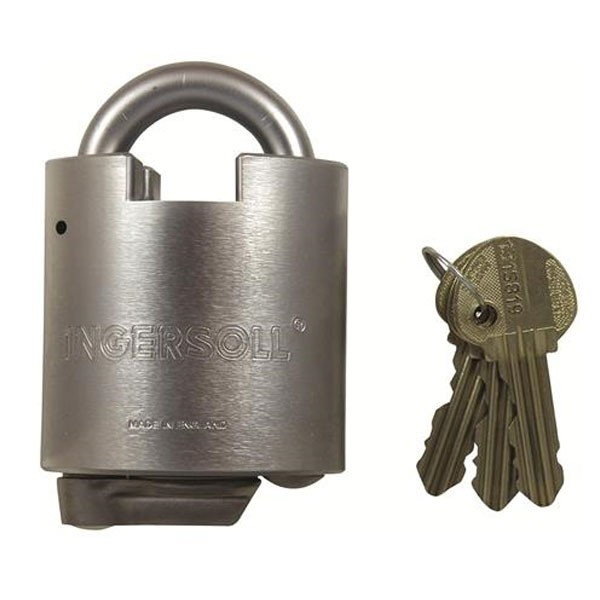 Ingersoll Padlock 10 Lever Close Shackle