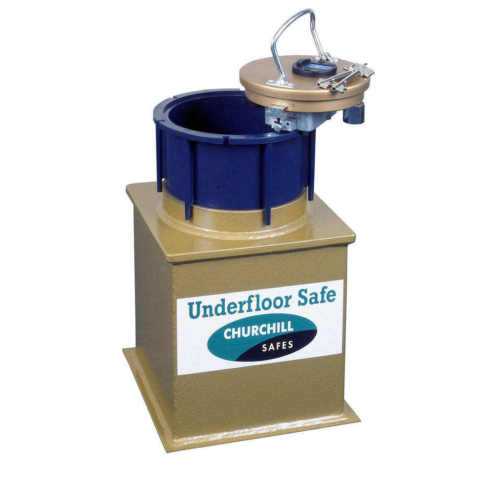 Churchill Domestic Under Floor Safe D2L