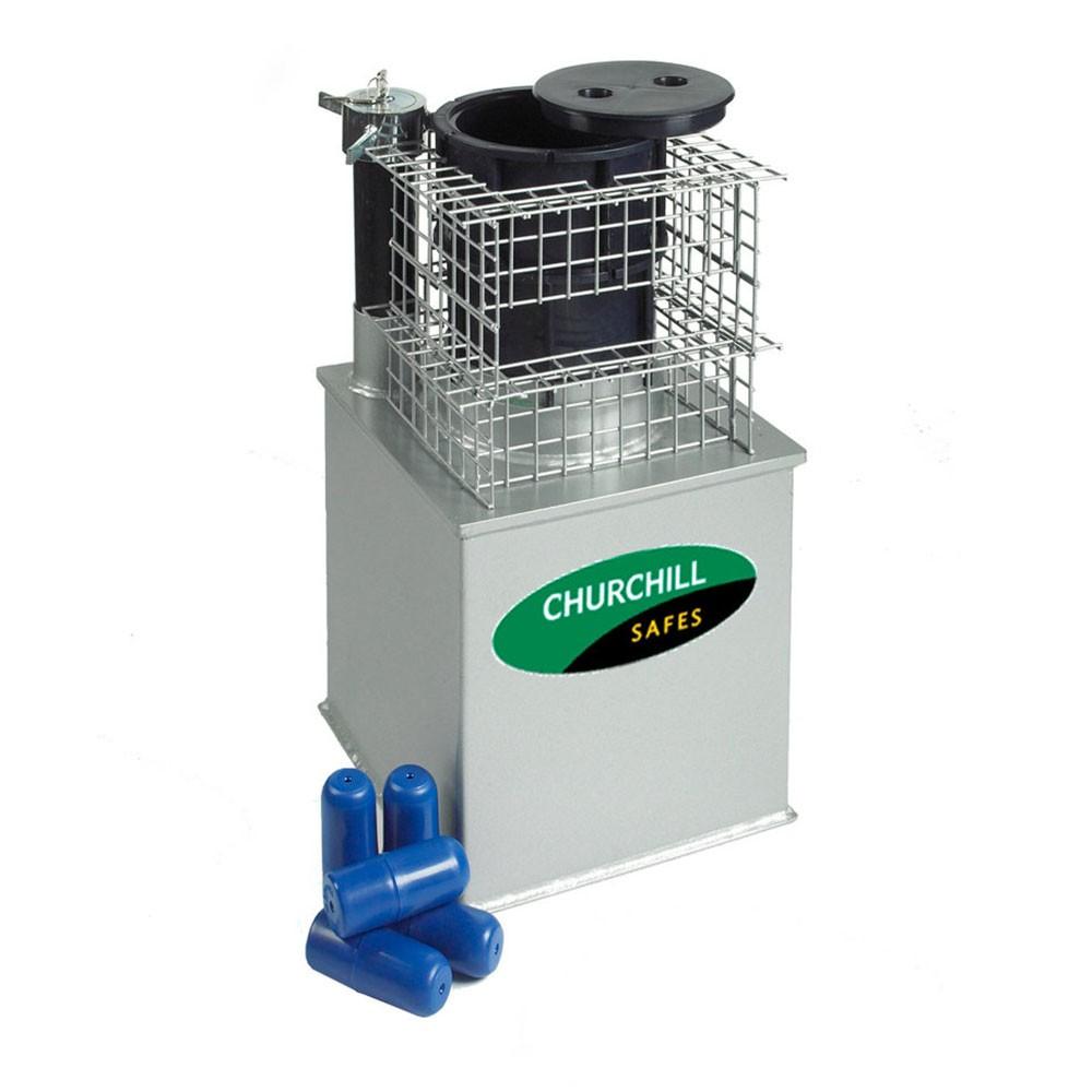 Churchill Euro Emerald Floorsafe 24 Deposit