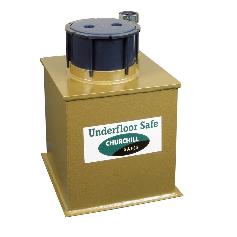 Churchill Vector Floor Safe V4 Deposit