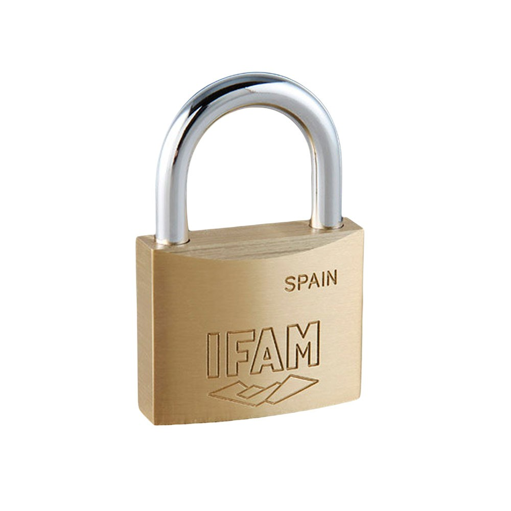 Ifam E20 Brass Padlock 20mm