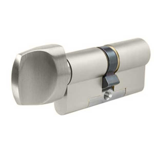Evva 3KS Plus Euro Knob Cylinder Nickel Plated
