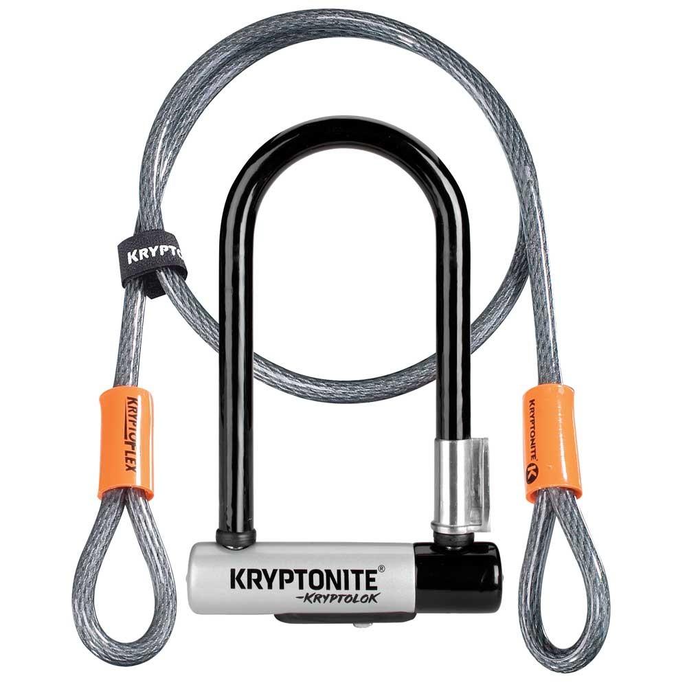 Kryptonite Kryptolok New-U Mini U-Lock With Cable