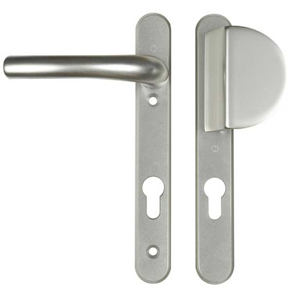 Hoppe Lever / Fixed Pad 92PZ 122mm Silver