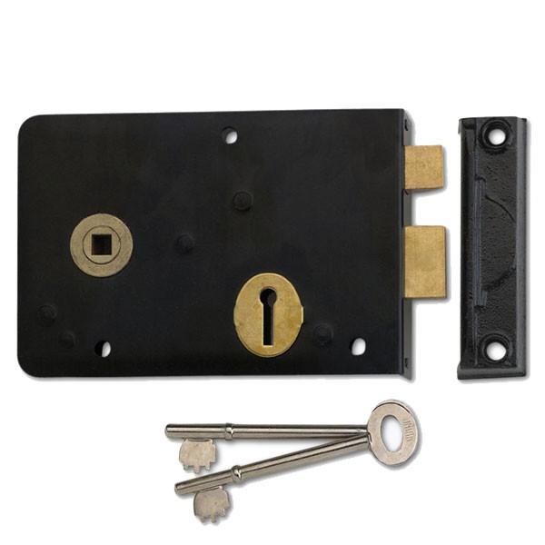 Union 1439 Rim Lock - Diagram 1