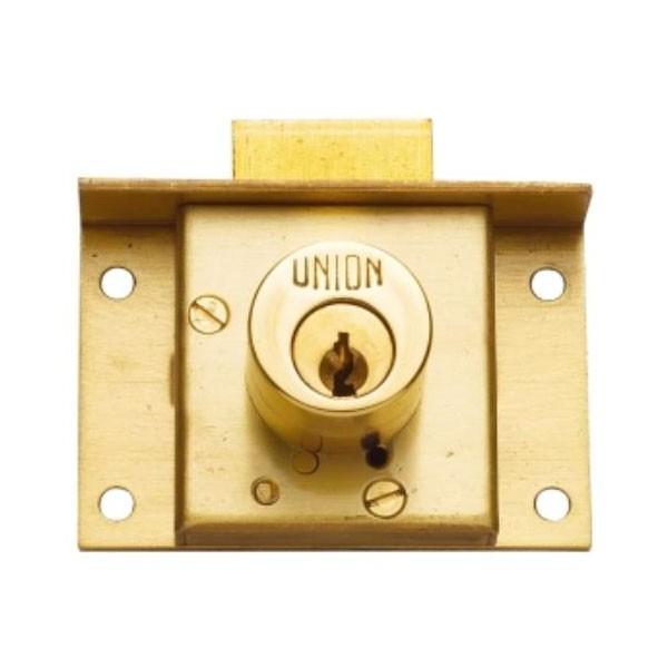 Union Cylinder Cut Drawer Lock 64mm