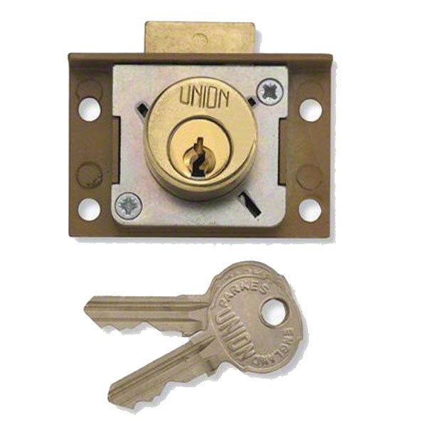 Union Cupboard / Drawer Lock 51mm