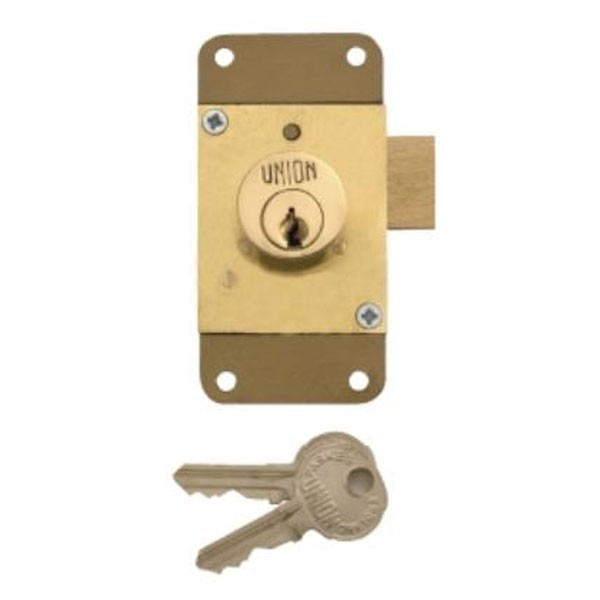 Union Cylinder Cupboard Lock 76mm