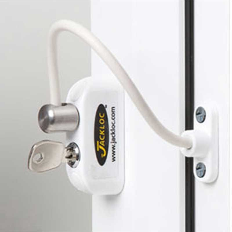 Jackloc Window Restrictor White