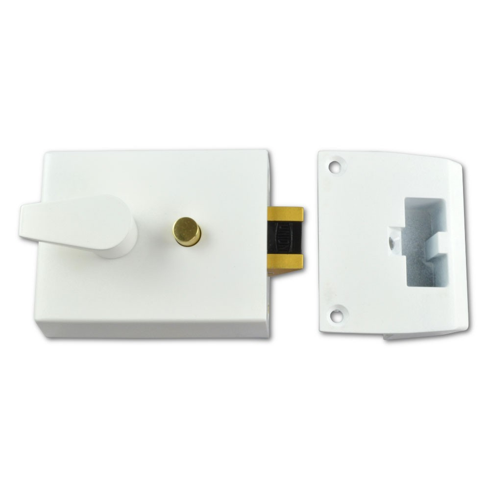Auto Deadlock Case 60mm White