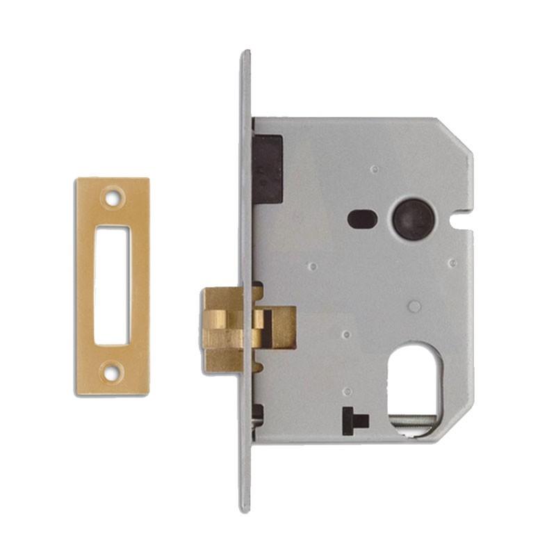 Union 2441 Clawbolt Oval Case Brass