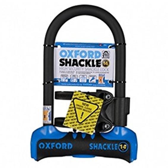 Oxford SHACKLE 14 U-Lock 260mm Blue