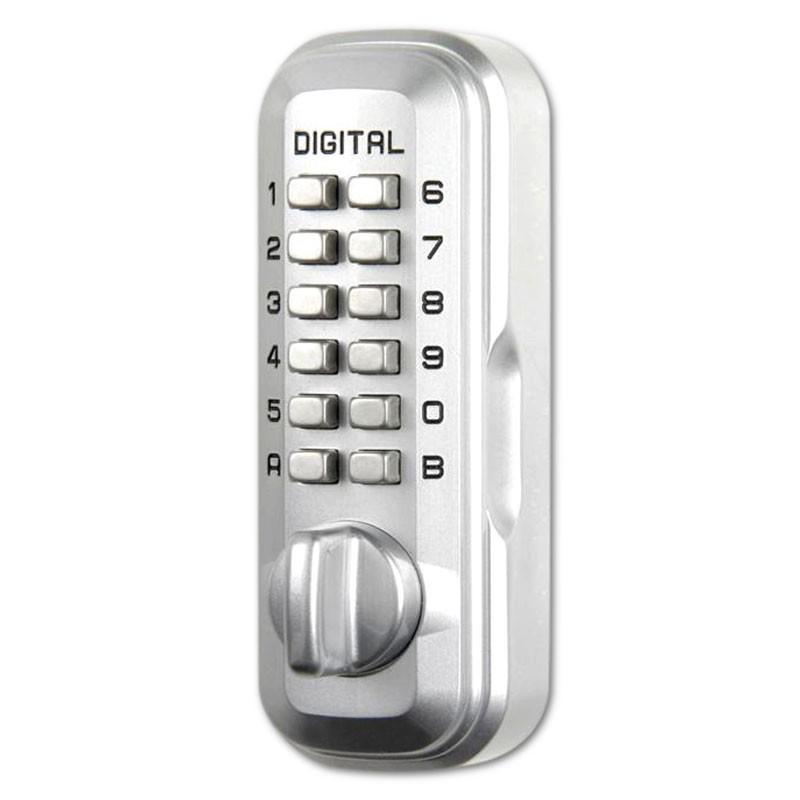 Lockey LKS200 Digital Key Safe Satin Chrome