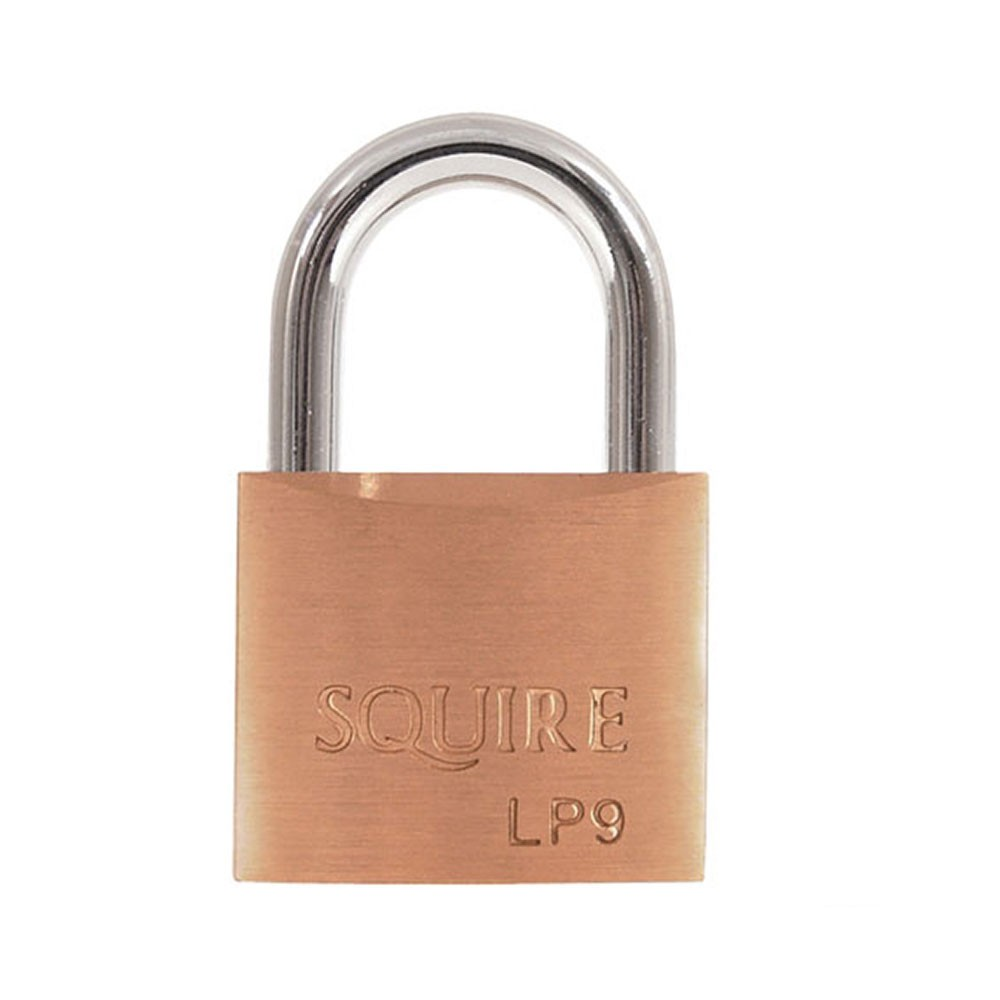 Leopard Brass Padlock 40mm