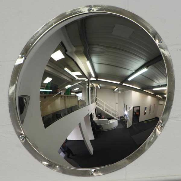 Securikey Anti-Vandal Steel Wall Dome Mirror