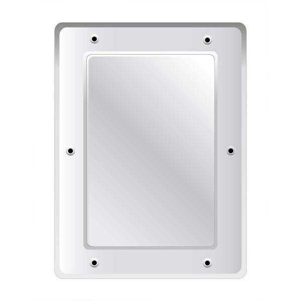 Securikey Anti Vandal Flat S/Steel Mirror