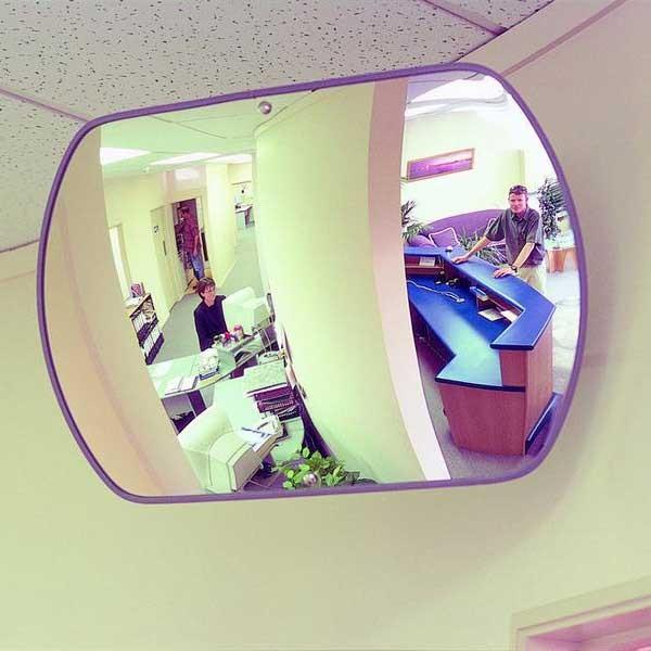 Securikey Rectangular Acrylic Interior Mirror