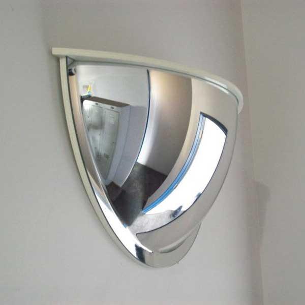 Securikey Convex Half Dome Mirror With Cap
