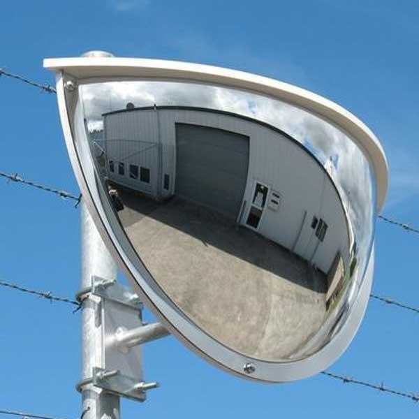 Securikey Exterior Half Face Security Mirror