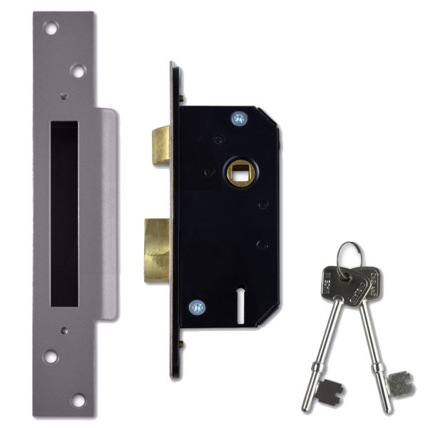 Willenhall M3 Sashlock 50mm Satin Chrome