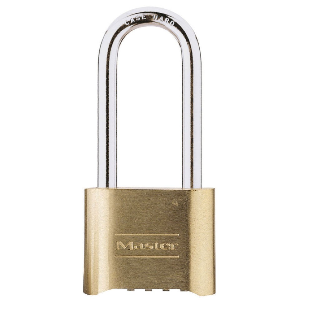 Master Lock No 175 Long Shackle Combination Padlock