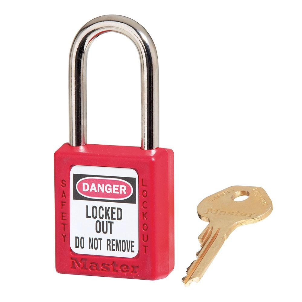 Master Lock 410 Lockout Padlock Red