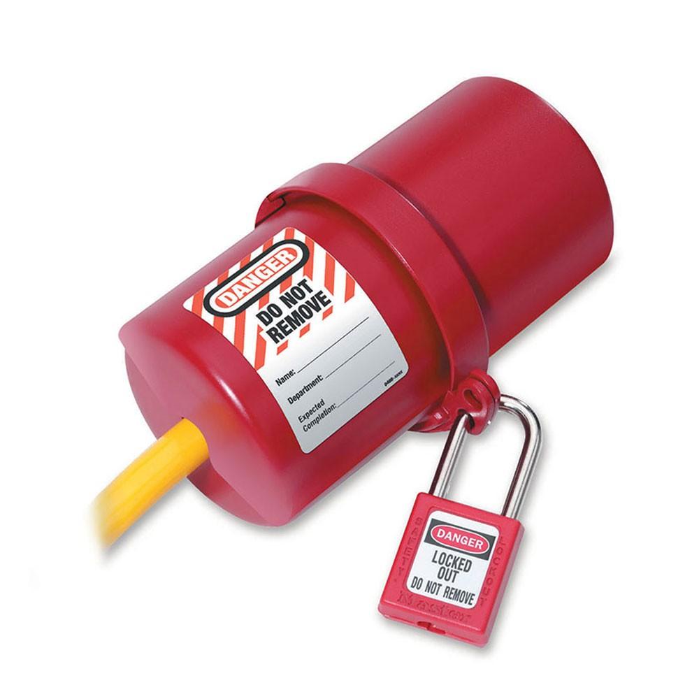 Master Lock Electrical Plug Lockout Large