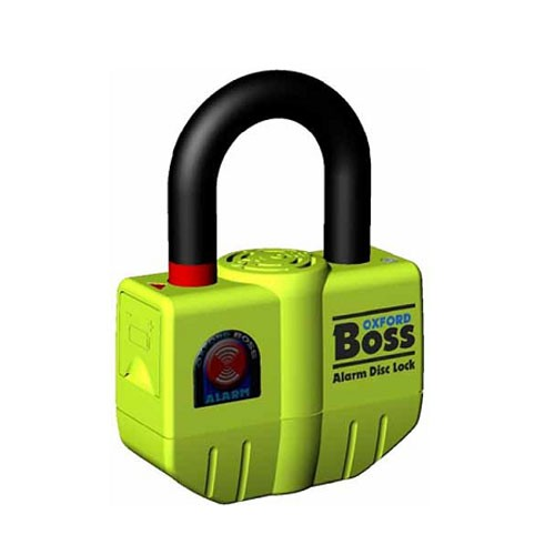 Oxford Big Boss Alarm Disc Lock 16mm