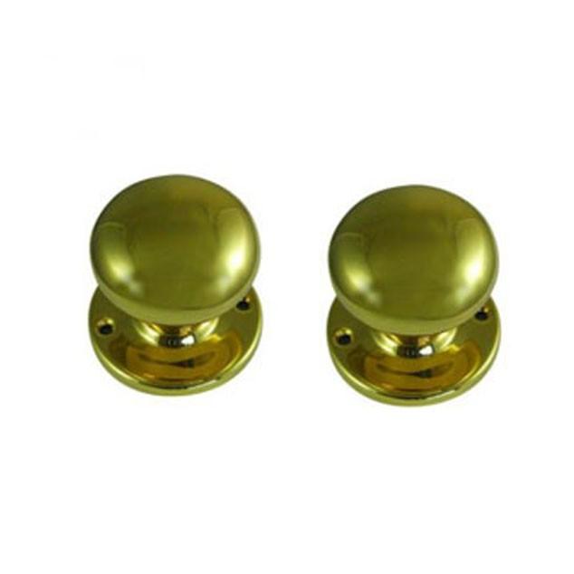 Legge 472 Victorian Knob Turn 51mm Polished Brass