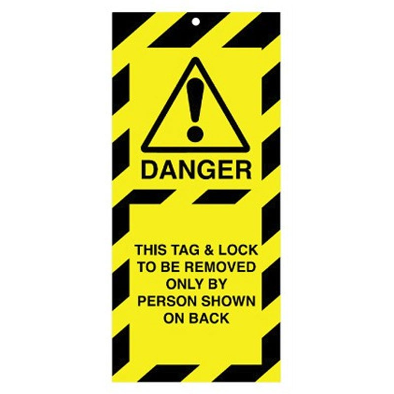 Poly Tag This Tag And Lock 75mm