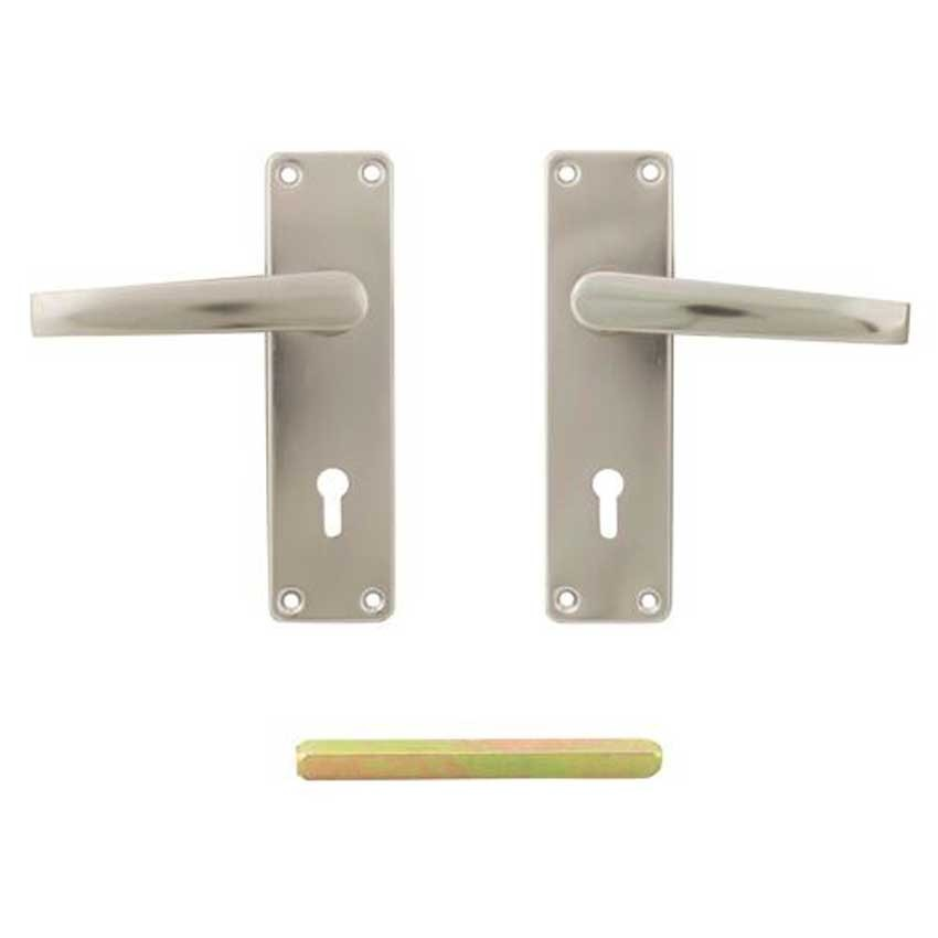 TSS Aluminium Screw Fix Lever Lock Handles