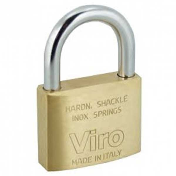 Viro Brass Padlock 40mm KA